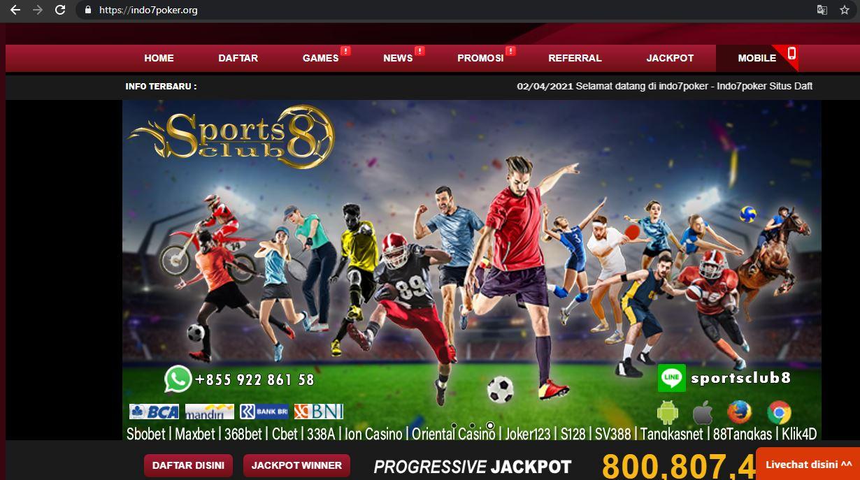 Daftar Poker Online Terbaru Bersama Indo7Poker